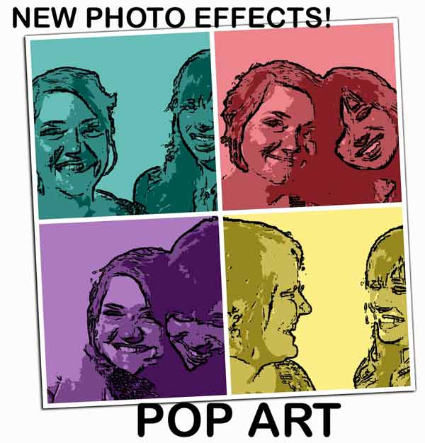 Pop Art Photo Effect
