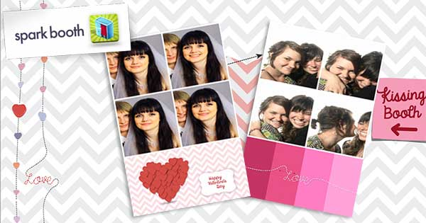 Sparkbooth Valentines Theme